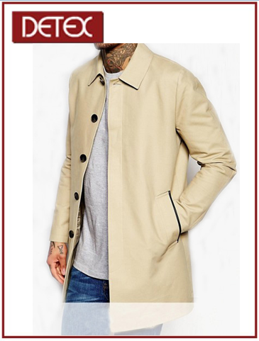 Single Breasted Mens Trench Clothing 2016