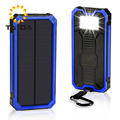Solar Power Bank Charger Outdoor Solar Charger Mobile Phone Charger 5000mAH with output:USB 5V