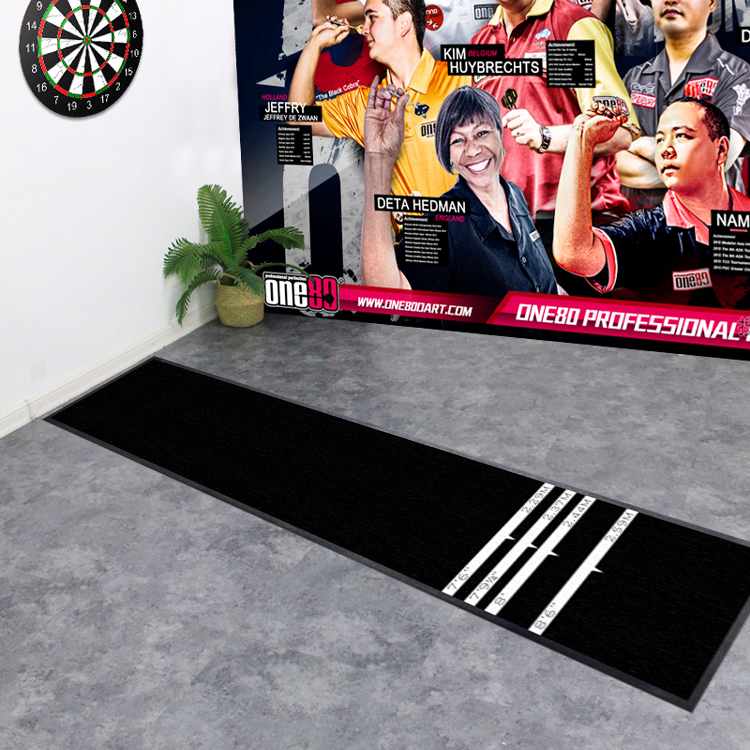 Custom Club Game Play Heavy Duty Dart Mat