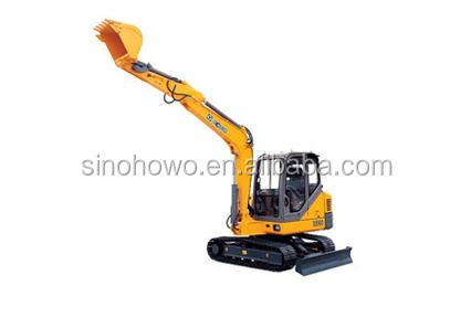 Construction Machinery Excavator XE60 With Best Use Of Materials
