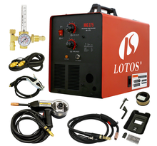 Lotos MIG175 Good Price Portable MIG MAG Gas Shielded Welder With High Quality With Professional Technical