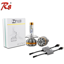 Advanced Auto Parts H4 LED Headlight Z7 60W 7000LM LED Car Lamp Auto Head Bulb