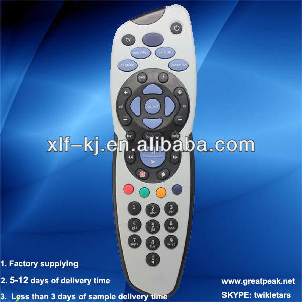 skybox f5 cccam server SKY PLUS remote control unit Shenzhen factory remote controller tv remote control remote control switch