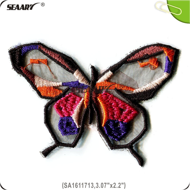 butterfly embroidery design for ladies suits
