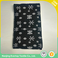 Customized acrylic jacquard pattern winter knitted mens ladies' scarf with logo