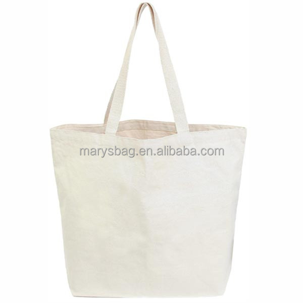 Natural Cotton Canvas grocery shopping Tote Bag