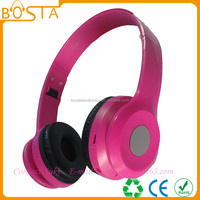 Top quality premium sound effect music hifi high end bluetooth headphone
