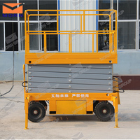 hot sale electric hydraulic scissor lift mobile