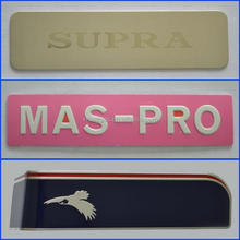 High quality promotional aluminum extrusion nameplate from jane