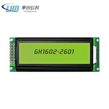 16*2 Transflective FSTN LCD Character Display