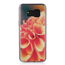 Customized couple fashion tpu phone cases For for Samsung galaxy S8 plus