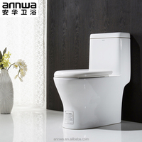 Ceramic Bathroom White One Piece Toilet(Closestool) Best For Life