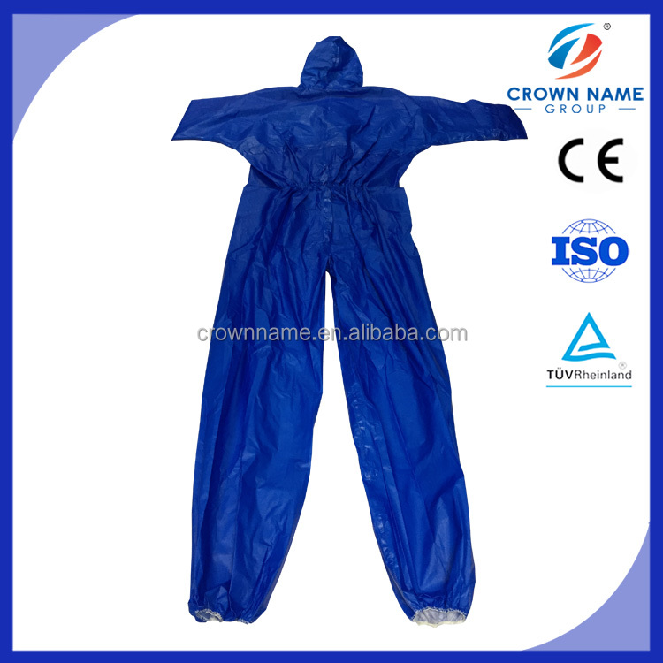 PP+PE/SF Disposable coverall/ chemical protective suit