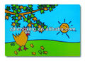 wholesale pp cartoon printed plastic placemats for kids