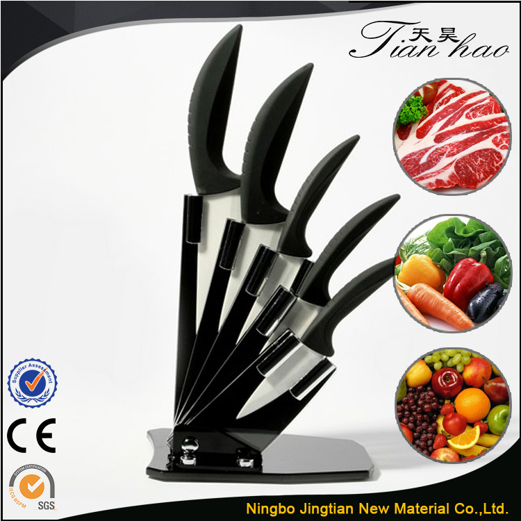 High quality handle Decorated Kitchen Ceramic Knife