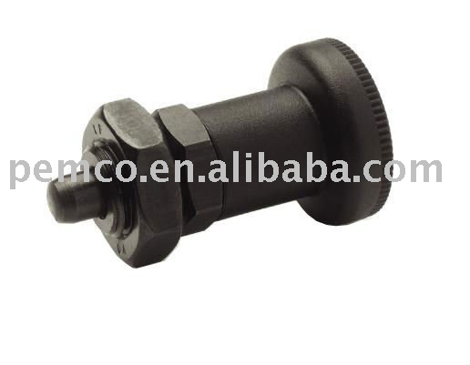 Clamping Steel body Indexing plunger with hexagon color GN-607A/AK