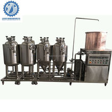 Stainless Steel Mini Beer pilot abany brewing system for Sale with CE Standard
