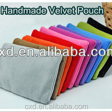 Fashionable nylon velvet bags/ Flannelette bags for phone / charger / headset /earphone