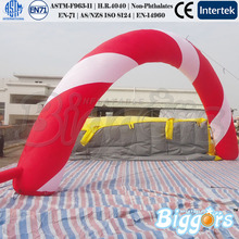 Giant Inflatable Arch For Promotion Commercial Advertising Shape