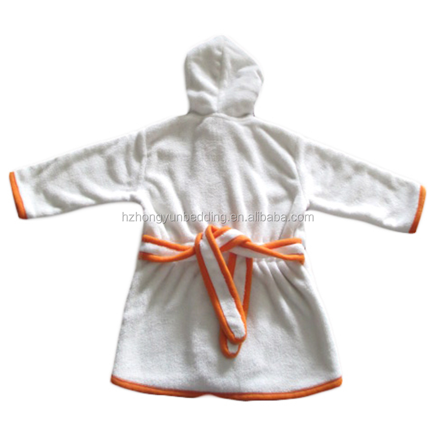 100% cashmere Animal Cartoon Coral Fleece Bathrobe