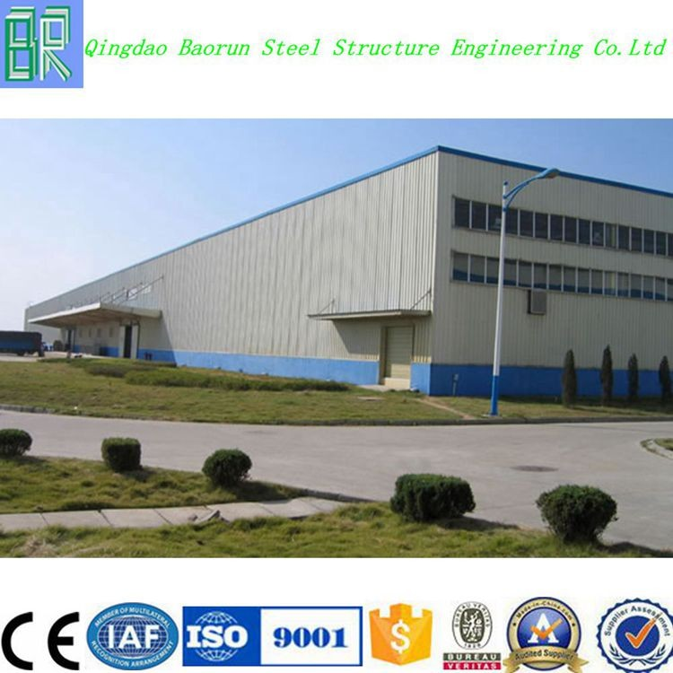 Low cost prefabricated steel structure industrial building shed warehouse