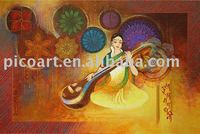 indian oil painting,indian art