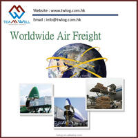 Air freight door to door service from China to Guernsery