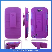 For Samsung GALAXY Note 2 II Case Cover Protector Future Armor Case Holster N7100