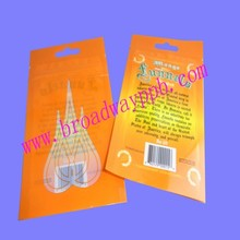 strong durable factory custom printed plastic seed packet with ziplock