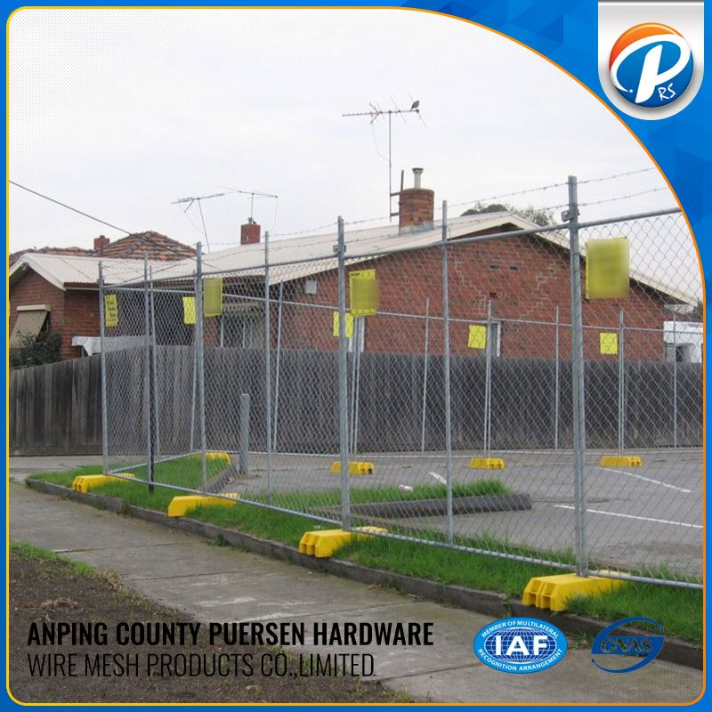 For Outdoor Best Price Fencing Orange Temporary Fence