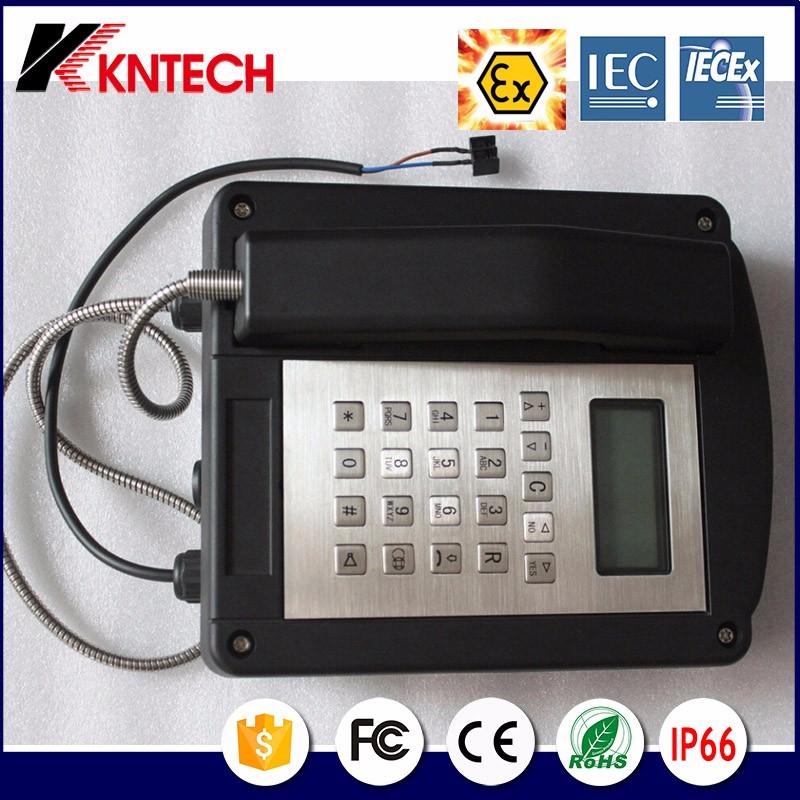 Explosionproof Telephone Resist tel Iecex Certify Knex1 Kntech 21