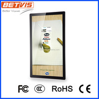 best seller lcd digital signage wall mount android based with online control software
