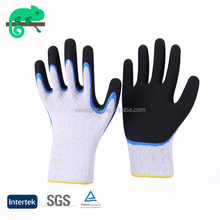 RAMSAFETY Super warm acrylic performance cotton knitted gloves warm cotton gloves