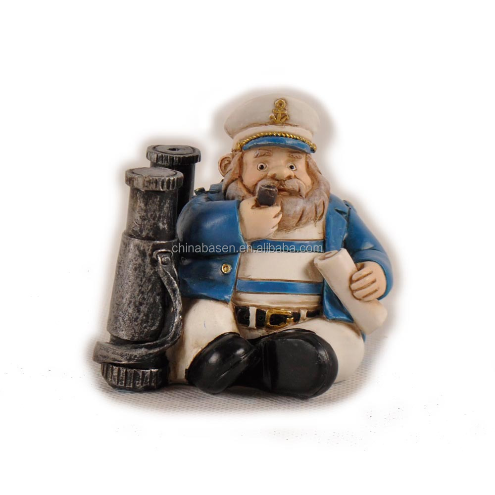 Polyresin products captain resin figure