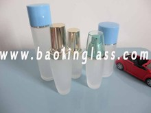 HDPE in bottle sizes between 50ml to 1Lt, mainly for higher volume toiletries