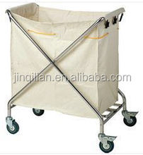 JQL-003 folding car Hotel Cleaning Trolley Housekeeping Trolley