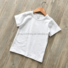 Bulk wholesale 160gsm 100%cotton cheap kids white t shirt from china supplier
