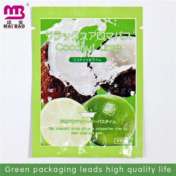 low price aluminum foil ziplock herbal incense wtf bag