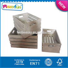 Wholesale low price natural fruit vegetable wooden boxes