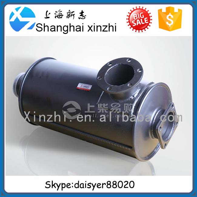 SHANGCHAI 114 ENGINE SPARE PARTS XSB-08D-000+C Muffler assembly for XCMG XS202J