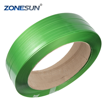ZONESUN Green PET Steel Strap, PET Strapping Tape, PET Packing Strap for 12mm supply