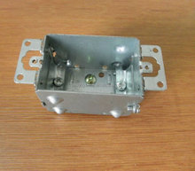 cETL Approved Device Galvanized Steel Electrical Metal Outlet Box