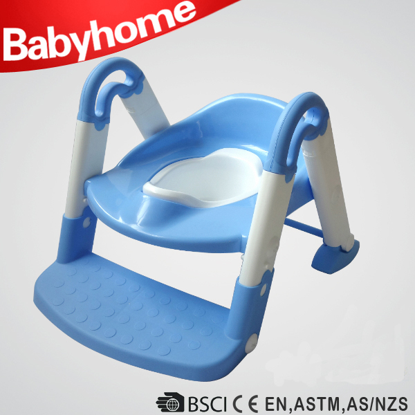Friendly baby plastic inflatable potty