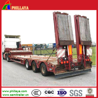 semi trailer with air bag suspension