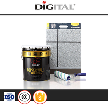 Top Quality Eco-friendly elastic granite paints best asian exterior wall paint