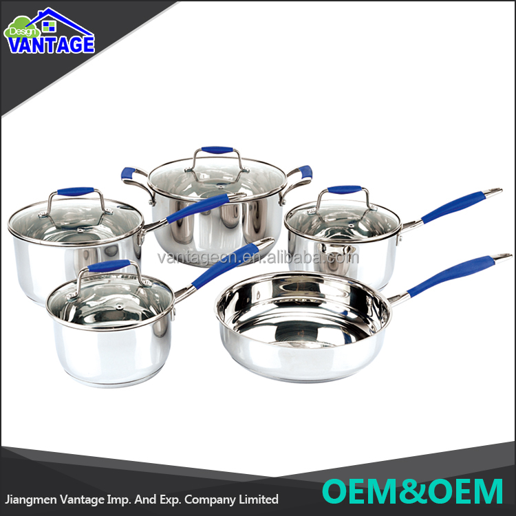 Best Quality large Stainless Steel Stew Pressure Cooker Instant Stock stainless steel pot for cooking