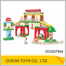 Hot sale 86pcs kids interlocking building block aniaml toy OC0227954