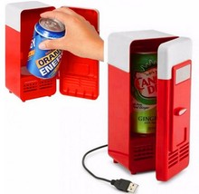 Factory seller mini USB fridge , desktop USB cooler&warmer for drink with high quality