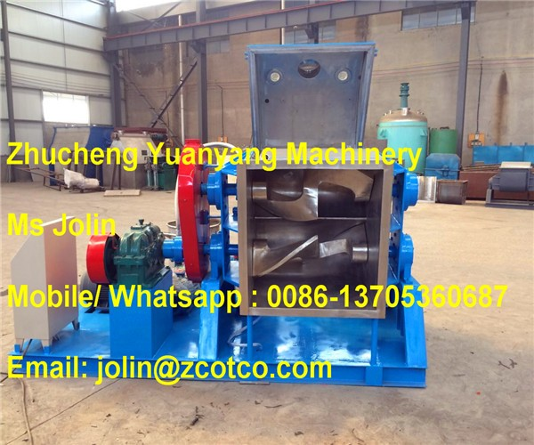 1000L Dual Sigma-blade chewing gum making Kneader machine / Z-blade Mixer