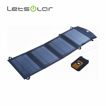 14W solar panel bag in briefcase design for cell phone